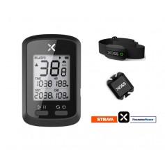 DrPhone XOSS G+ - GPS Fiets Computer - Strava - Snelheidsmeter met cadanssensor + hartslagsensor - IPX7 Waterdicht