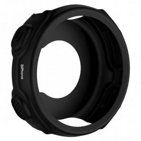DrPhone GSC Siliconen Rubber TPU Case – Bescherm Cover – Geschikt voor Garmin Forerunner 235 / 735XT – Zwart
