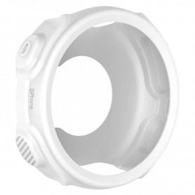 DrPhone GSC Siliconen Rubber TPU Case – Bescherm Cover – Geschikt voor Garmin Forerunner 235 / 735XT – Wit