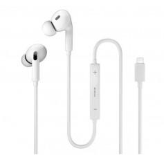 2x DrPhone iPad iPhone Oordopjes met lightning connector - Rijke Bastonen - Luxe Oortjes met Microfoon & Bediening
