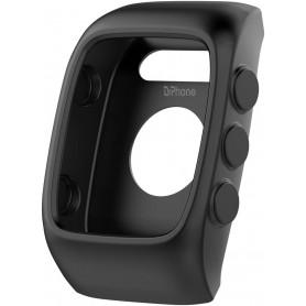 DrPhone PMC Zachte Siliconen Hoes - Beschermhoes Cover - Geschikt voor Polar M430 - Zwart