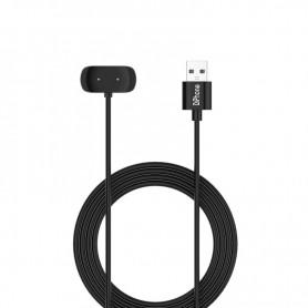 DrPhone USB Oplaadsnoer – Oplaadkabel – Oplader – Geschikt voor Amazfit GTS 2 / GTR 2 /Pop / Zepp e/Zepp z – 1M – Zwart