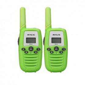 DrPhone WT1 – Walkie Talkie – Sterk En Helder Geluid – Zaklamp – VOX Functie – Compact - Groen