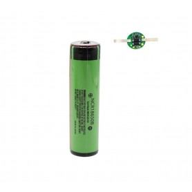 DrPhone 3400 mAh NCR18650B 3.7V 6.7A – Oplaadbare Batterij – Buttontop - 1 Stuk