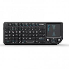 Rii X1 2.4Ghz Mini Draadloze Toetsenbord met TouchPad Muis -Geschikt voor PC, Notebook, Smart TV, HTPC, Android TV BOX, etc.