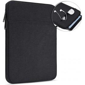 DrPhone S06 10.5 inch Sleeve - Tablethoes – Pouchbag - Geschikt voor o.a iPad Pro 11 2020/ Samsung S6 etc - Zwart