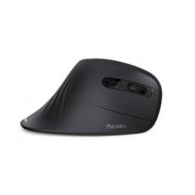 DrPhone Ergonomische Verticale Draadloze Muis 2.4Ghz Optische Huid 6 Knoppen Comfortabele Gaming Muizen Met Verstelbare Dpi
