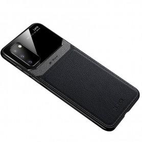 DrPhone SGC4 PU Lederen Case – Cover – Camera Bescherming - Geschikt voor Samsung Galaxy S20 Ultra – Zwart