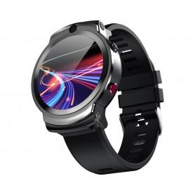 DrPhone SW13 Instinct - 4G LTE Smartwatch Mannen - GPS / WiFI - Gezicht ID - Android - Camera Flipmodus - Hartslagmeter