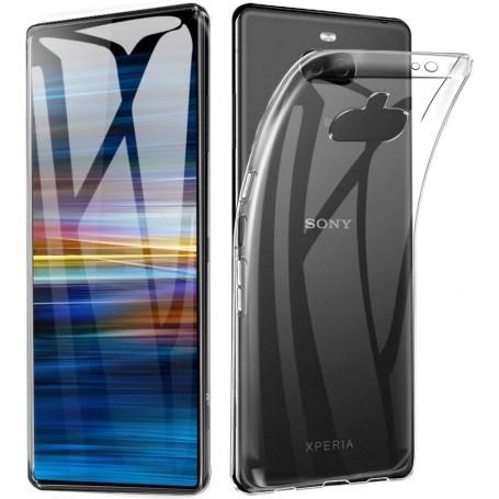 DrPhone SXC TPU Hoesje - Siliconen Gel Case - Geschikt voor Sony Xperia XA3 Ultra/ Xperia 10 Plus - Transparant