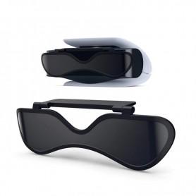 DrPhone - HD - Duel Lens - Beschermende Cover - Geschikt voor PS5 Camera - Zwart