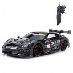 DrPhone RCZ - RC Auto - 1:18 - 30Km/h Race Auto - Driften - Bestuurbare Auto met Accu - 2.4ghz Hoge Snelheid - Zwart