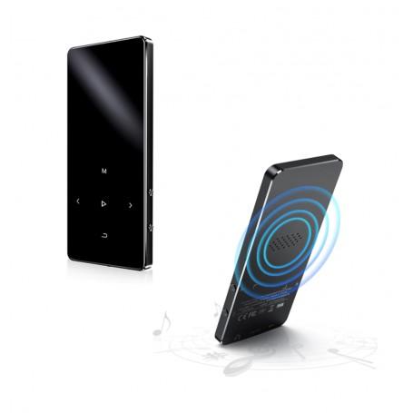 DrPhone MX2 - HiFi Audio MP4 Speler- 8GB Interne Geheugen - MP3 Speler – Films – Muziek Speler – Wekker – E-Books - Zwart