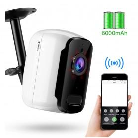 DrPhone IC-T2 - Video IP Camera - Beveiligingscamera - Binnen / Buiten - - Wireless WiFi – App – Beveiligingscamera - Wit