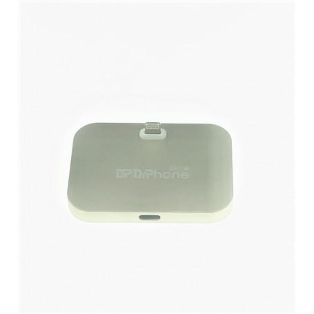 DrPhone LD1 - Laadstation - Oplaadstation - Oplader voor iPhone met Lightning poort - 2A - Roze Goud
