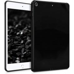 DrPhone TPUC - Siliconen Case – Rubberen Hoes - Zwart - Voor iPad 10.2 Inch