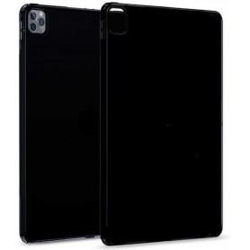 DrPhone TPUC1 - Siliconen Case – Rubberen Hoes - Zwart - Geschikt Voor iPad Pro 12.9 2020