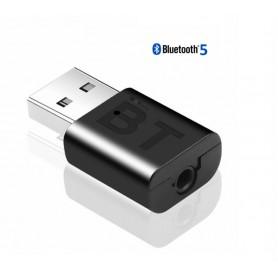DrPhone BX2 - Audio ontvanger - Zender / Receiver - Ontvanger USB dongle - 5.0 Bluetooth - 3.5 mm audio kabel - Zwart