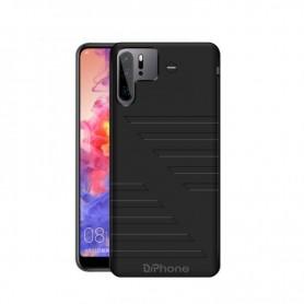 DrPhone PC1 Externe Batterij Case – Geschikt voor Huawei P30 Pro - 6800mAh Lader - Power Bank Draagbare Oplaad Case - Zwart
