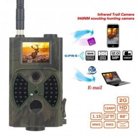DrPhone DC1 – Digitale Wildlife Camera – Bewegingssensor – LCD Scherm – MMS Functie – Camouflage Groen