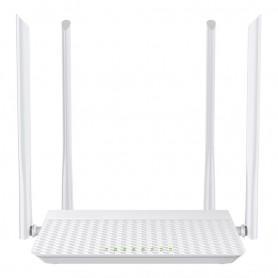 DrPhone WR1 – High Speed Wifi Router – 4 Antennes – 4 LAN-poorten – 1 WAN-poort - Wit