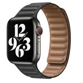 DrPhone AWB1 – Horloge Band – Magnetisch – Lichtgewicht – Waterdicht – Geschikt voor Apple Watch 38 / 40mm - Zwart