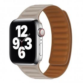 DrPhone AWB2 – Horloge Band – Magnetisch – Lichtgewicht – Waterdicht – Geschikt voor Apple Watch 42 / 44mm - Khaki