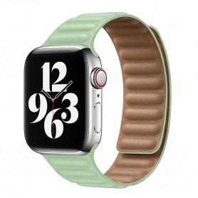 DrPhone AWB1 – Horloge Band – Magnetisch – Lichtgewicht – Waterdicht – Geschikt voor Apple Watch 38 / 40mm - Groen