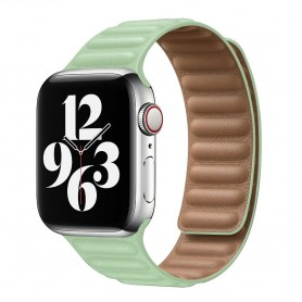DrPhone AWB2 – Horloge Band – Magnetisch – Lichtgewicht – Waterdicht – Geschikt voor Apple Watch 42 / 44mm - Groen