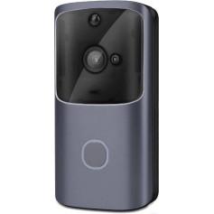 DrPhone Video Deurbel Cloud – Wireless Camera - Intercom - Wifi + 4G - Inclusief App + Bel + Adapter & 3 Meter Kabel - Zwart