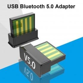 DrPhone - Mini Bluetooth 5.0 USB Adapter - Dongle - Adapter - Draadloos - verbind met meerdere bluethooth appparaten