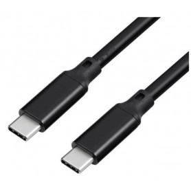 DrPhone titan 4 - USB-C 3.1 Gen 2 naar Type-C - 5A 100W PD Kabel - E-Mark Chip - QC 4.0/3.0 Fast Oplaadkabel - 10Gpbs Data