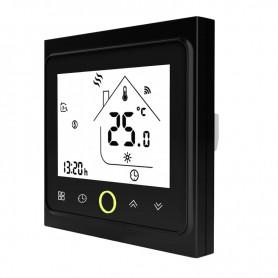 DrPhone TS1 - Wifi Thermostaat - Elektrische verwarming - Compatibel met Google home en Amazon echo - Zwart