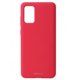 DrPhone SHC - TPU Hoesje - Ultra Dun Premium Soft-Gel Case – Voor Samsung Galaxy A51 5G - Rood