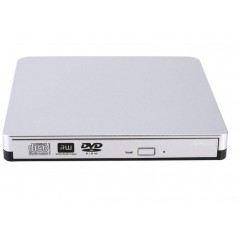 DrPhone DW1 - Externe DVD/CD Writer - DVD Speler - USB 3.0 - Windows / Mac OS / Macbook
