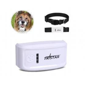 DrPhone GPS1 – GPS Tracker halsband – Gratis App – Lichtgewicht - Ingebouwde 1000mAh Batterij - Wit