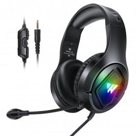 Elementkey GH11 - RGB Gaming Headset - Usb + 3.5Mm + 4Pin - Bedraad - Comfortable - geschikt voor PS4 PS5 Xbox Pc Mobiele