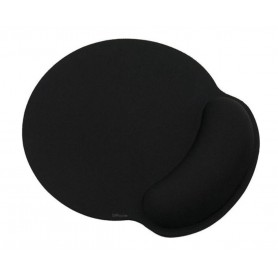 DrPhone ER2 - Ergonomische Muismat met polssteun – Premium Muis Mat met Anti-Slip Oppervlak - Zwart