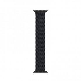 DrPhone X Nylon Band - Elastische Band Geschikt voor Apple Watch 1/2/3/4/5/6/SE - 42/44 MM – Roze