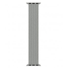DrPhone X Nylon Band - Apple Watch 1/2/3/4/5/6/SE - 42/44 MM - Nylon – Elastische Band – Zwart