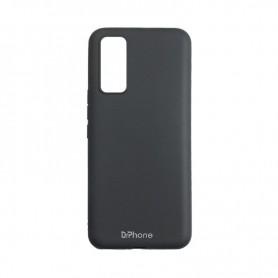DrPhone SN4 - Siliconen hoesje - Cover - Geschikt voor de Samsung Galaxy S20 - Zwart