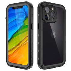 DrPhone WH2 Waterdichte Hoes IP68 – Geschikt voor iPhone 12 Pro - Ingebouwde schermbeschermer –Stofdicht – Schokbestendig