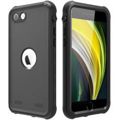 DrPhone WH3 Waterdichte Hoes IP68 – Geschikt voor iPhone SE 2020 - Ingebouwde schermbeschermer –Stofdicht – Schokbestendig