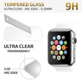 38mm Ultra Dun Premium Tempered Glas Apple Watch Glazen Bescherming 2.5D 9H
