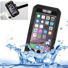 iPhone 8 Plus / 7 Plus / 6S Plus / 6 Plus Waterproof Premium Motorhouder / Fietshouder Case Met Draaiende Houder + Accessoires