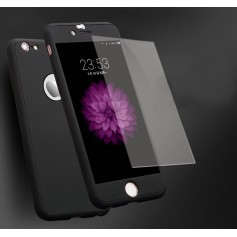 CNC Crafted iPhone 6S / 6 Premium 360° Tempered Glas Case Eclipse Black