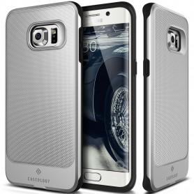 Caseology Vault Series Samsung S6 Edge Plus Zilver + S6 Edge Plus Screen Protector