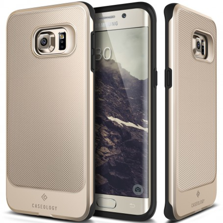 Caseology Vault Series Samsung S6 Edge Plus Goud + S6 Edge Plus Screen Protector