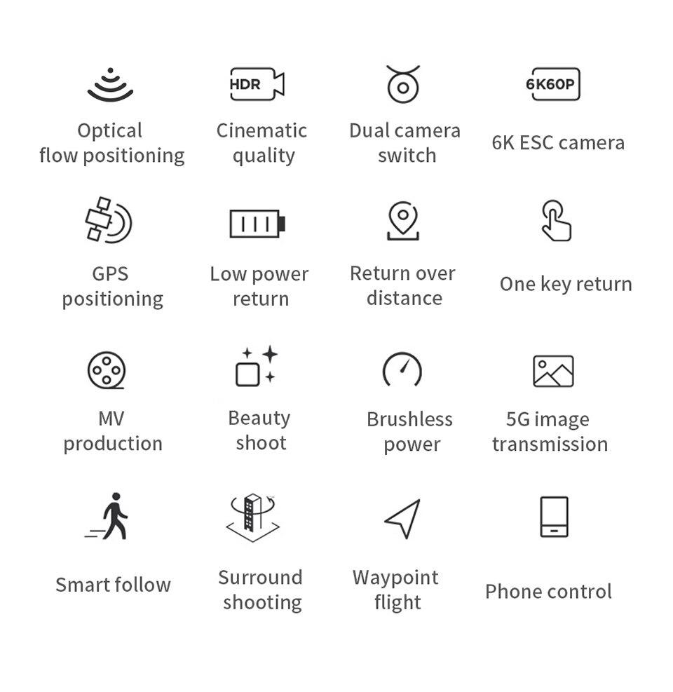 Drone 6K Camera