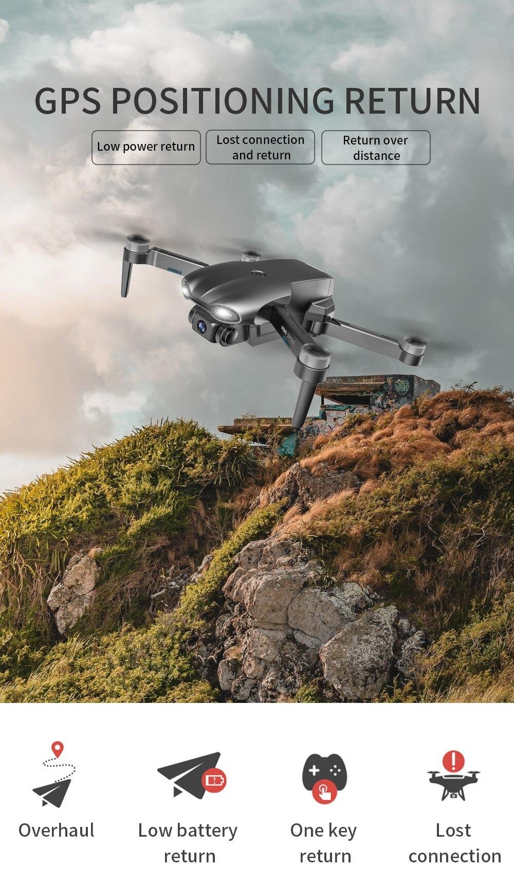 Drone met 5D 6K Camera